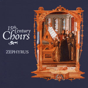 Cover art for Fifteenth Century Choirs CD